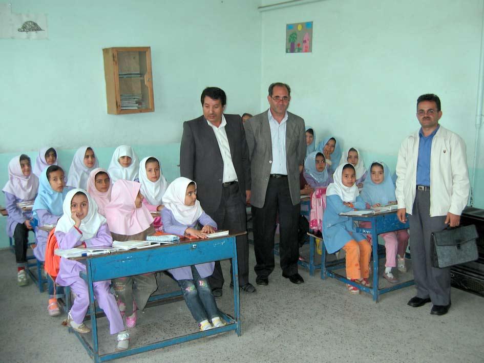از سمت راست بنده (علی اكبر ادهم) آقای احمدی و آقای سرابی